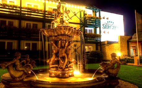 Wellness pobyt pro dva ve 4* luxusním hotelu Sergijo. Navíc zdarma transfer z hotelu.
