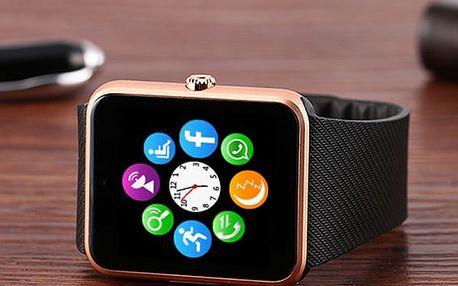 Chytré bluetooth hodinky pro Android smartphony a IOS s kamerou - 3 varianty