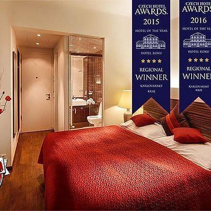 3denní luxusní pobyt pro 2 ve Wellness hotelu Green Paradise**** v Karlových Varech