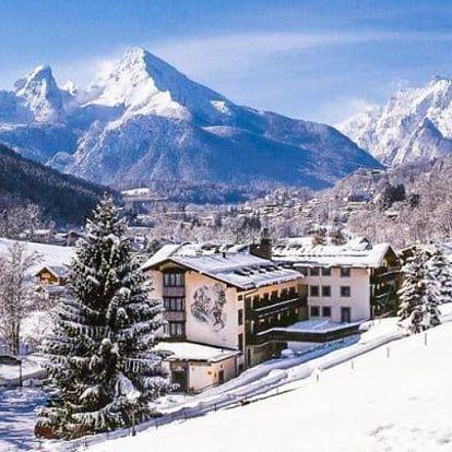 Bavorské Alpy hned u ski areálu s wellness