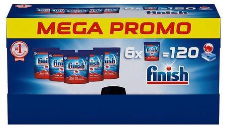 FINISH All-in-1 Max 6 x 20 ks Mega box