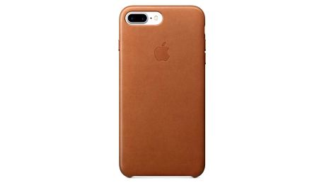 Apple Leather Case pro iPhone 8 Plus / 7 Plus - sedlově hnědý (MMYF2ZM/A)