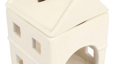 Keramická aromalampa Domek, 15 cm