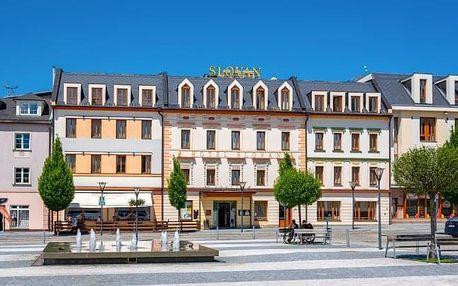 Jeseníky v Hotelu Slovan **** s polopenzí, degustačním menu i wellness