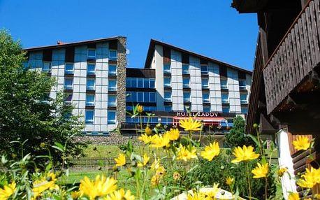 Šumava: pobyt v oblíbeném hotelu Zadov *** s polopenzí a wellness