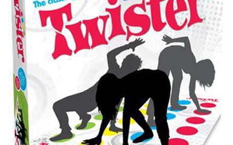 HASBRO TWISTER - Zábavná společenská hra.