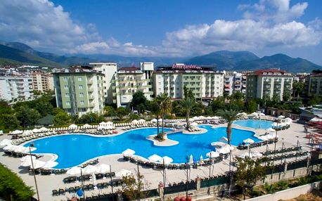 Turecko, Alanya, letecky na 8 dní all inclusive