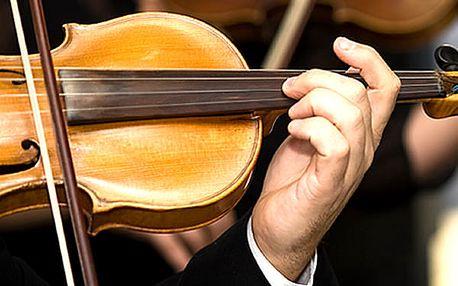 Vstupenka na lednové, únorové a březnové koncerty v Zrcadlové kapli Klementina.