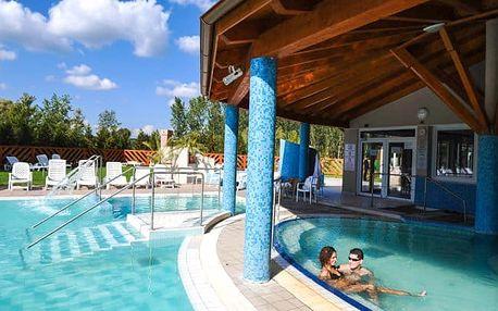 Egerszalók s termálními bazény a saunami