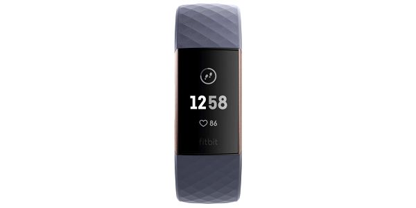 Fitness náramek Fitbit Charge 3 - Rose Gold, Blue Grey (FB409RGGY-EU)5