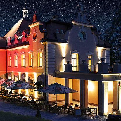 3 dny na zámku Berchtold s večeří, vínem i masáží