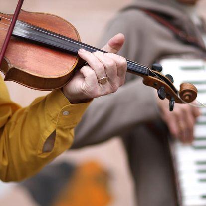 Novoroční koncerty Pouliční melodie