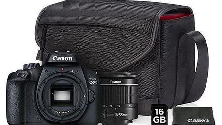 Canon EOS 4000D + EF-S 18-55mm DC + VUK černý (3011C013)