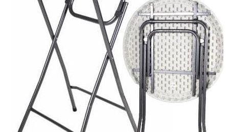 Garthen BISTRO 6313 Party stolek skládací 80 x 80 x 110 cm