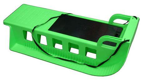 CorbySport Kamzík 05-A2043 - plastové sáně - zelené