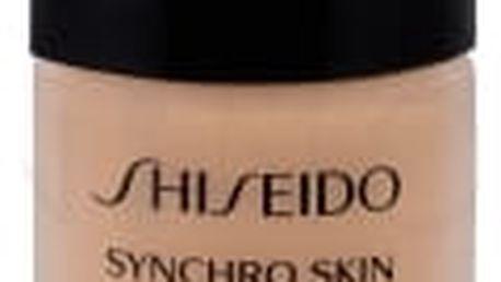 Shiseido Synchro Skin Lasting Liquid Foundation SPF20 30 ml rozjasňující liftingový make-up pro ženy Rose 4