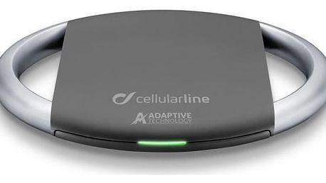 CellularLine WirelessPad Adaptive, standard Qi černá