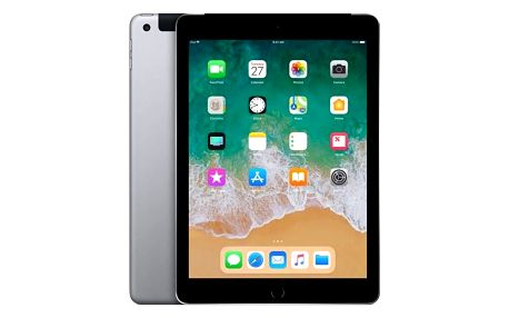 Apple iPad (2018) Wi-Fi + Cellular 128 GB - Space Gray (MR722FD/A)