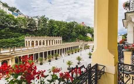 ASTORIA Hotel & Medical Spa v Karlových Varech s plnou penzí a wellness