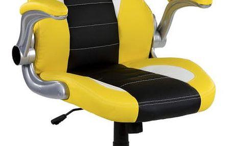 RACEMASTER® GT Series One 39188 Kancelářská židle - žlutá/černá/bílá