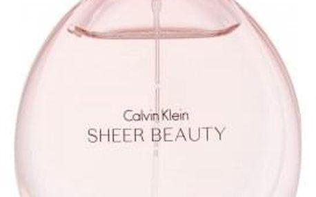 Calvin Klein Sheer Beauty 50 ml toaletní voda pro ženy