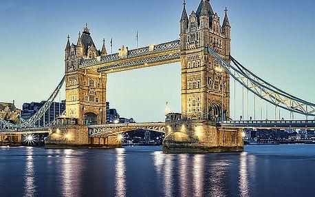 3denní zájezd do Londýna pro jednoho, navíc plavba po Temži, Trafalgar Square, Tower Bridge.