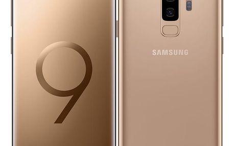 Mobilní telefon Samsung Galaxy S9+ 256GB zlatý (SM-G965FZDHXEZ)