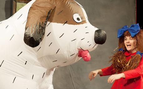 Vstupenka na dětské představení Maxipes Fík
