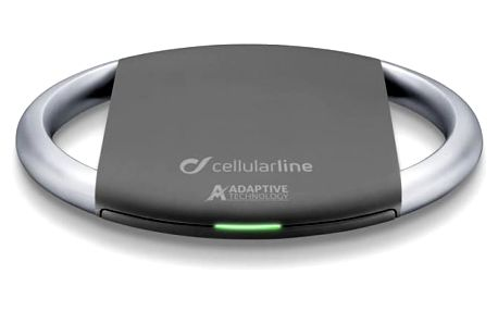 CellularLine WirelessPad Adaptive, standard Qi černá