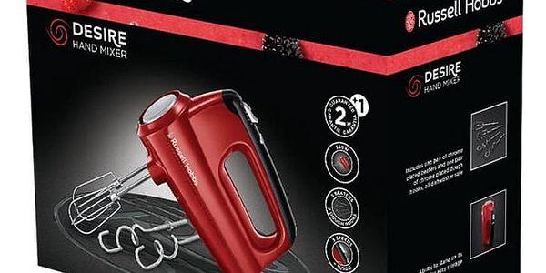 Ruční šlehač RUSSELL HOBBS DESIRE 24670-56 červený (454357)4