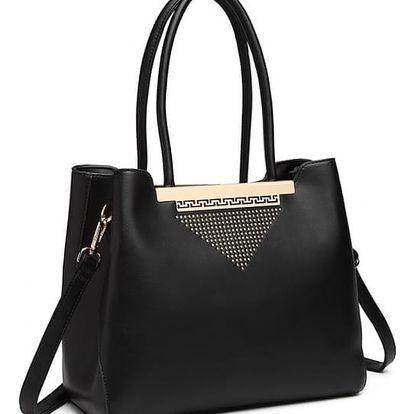 Dámská černá kabelka Floretta 1845