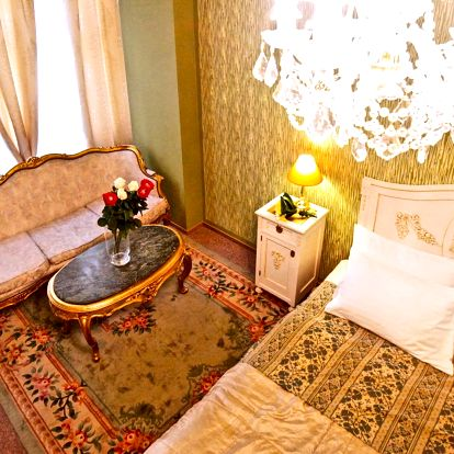 Tichý hotel v centre Prahy: 3 dni s raňajkami