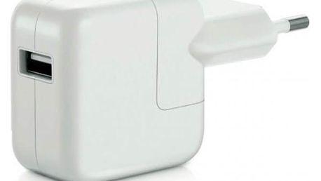 OEM pro iPhone, iPad, výkon 2,1A/10W, cestovní bílá (BA2500008322541)