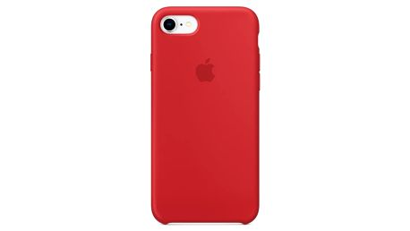 Apple Silicone Case pro iPhone 8/7 (PRODUCT)RED červený (MQGP2ZM/A)