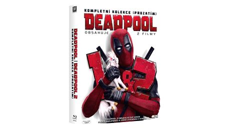 Blu-ray Deadpool 1&2 (2xBD)