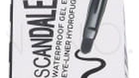Rimmel London Scandal Eyes 2,4 g voděodolná tekutá oční linka pro ženy 001 Black