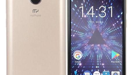 myPhone Pocket 18x9 zlatý (TELMYAPOCKET189GO)