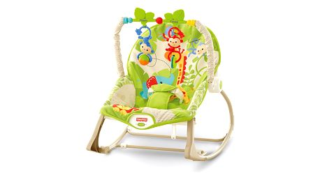 FISHER-PRICE Sedátko od miminka po batole – Rainforest
