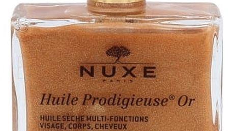 NUXE Huile Prodigieuse Or Multi Purpose Dry Oil Face, Body, Hair 50 ml suchý olej pro obličej, tělo a vlasy pro ženy