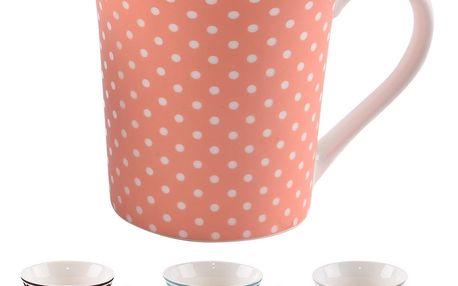 Orion Sada porcelánových hrnků Bag 370 ml, 4 ks