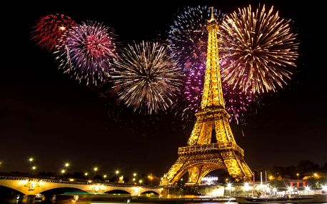 Francie, Paříž, autobusem na 4 dny