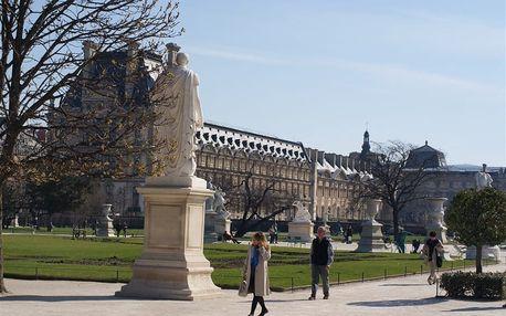 Francie, Paříž, letecky na 4 dny snídaně