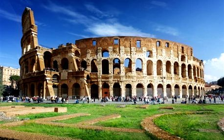 Itálie, Řím, autobusem na 4 dny