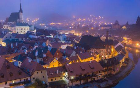 Romantika v centru Českého Krumlova s večeří