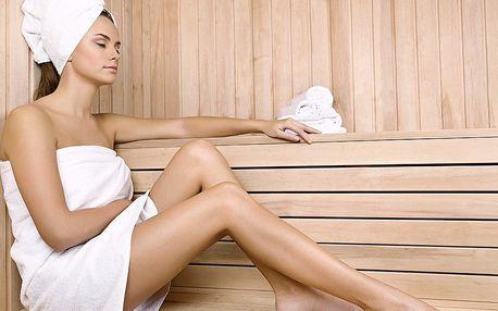 Až 120 minut privátní sauny pro 1–4 osoby