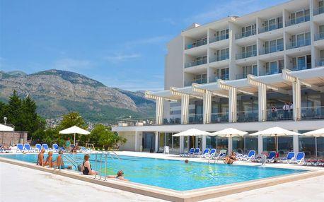 Černá Hora, Barská riviéra, letecky na 8 dní polopenze
