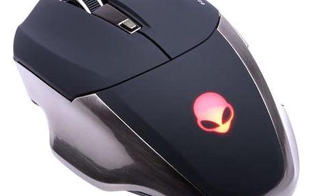 Connect IT Alien černá / laserová / 6 tlačítek / 1600dpi (CI-455)