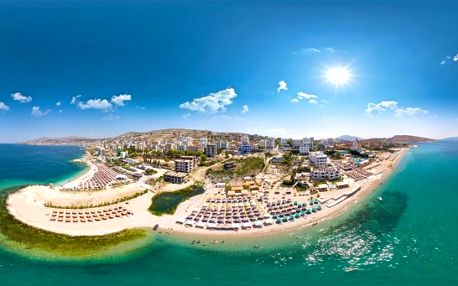 Albánie, Sarandë, letecky na 8 dní snídaně