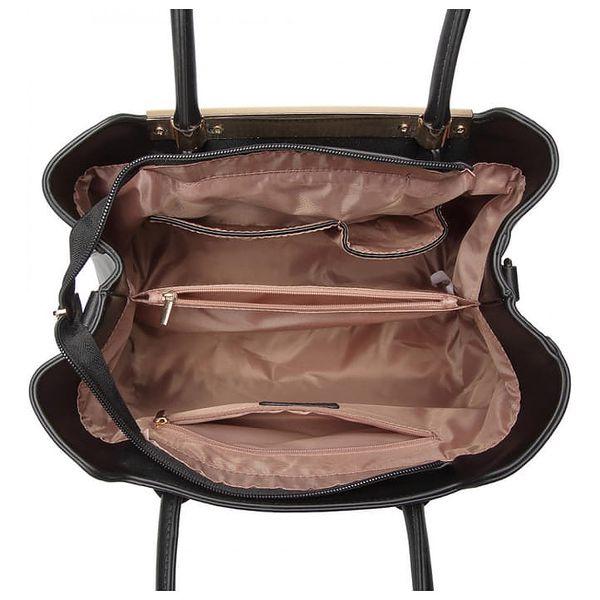 Dámská černá kabelka Floretta 18454