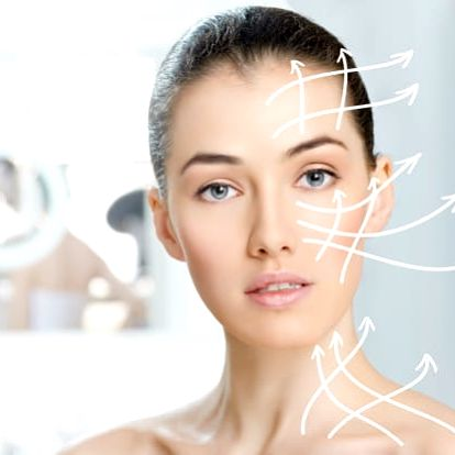Mikrojehličkovaní s kys. hyaluronovou či peptidy pro tvář bez vrásek